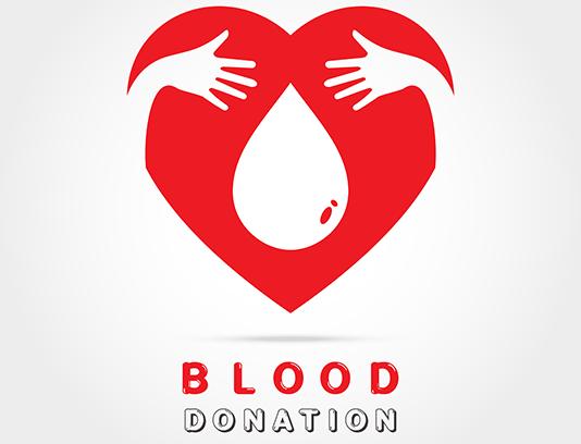 وکتور نماد اهدای خون