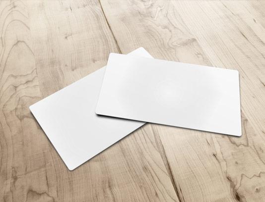 طرح لایه باز موکاپ کارت ویزیت دوتایی شماره ۱۴