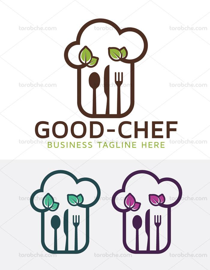 وکتور نماد و لوگوی آشپزی و آشپزخانه