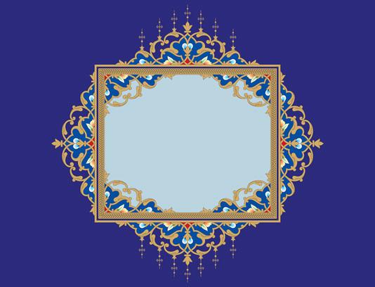 وکتور طرح المان و نماد اسلامی شماره ۳۰