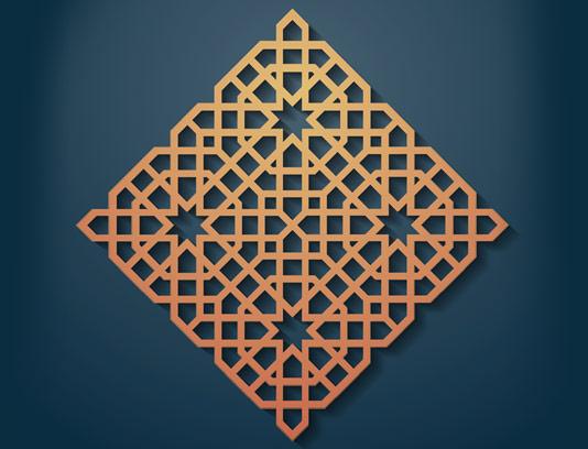 وکتور طرح نماد و المان اسلامی شماره ۳۲