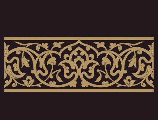 وکتور طرح المان و نماد اسلامی شماره ۳۴