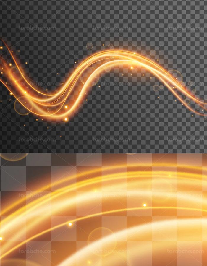 وکتور افکت نور بدون پس زمینه شماره ۰۸