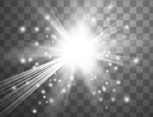 وکتور طرح افکت نور بدون پس زمینه شماره 09