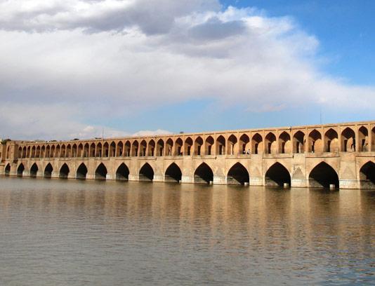 عکس با کیفیت سی و سه پل اصفهان