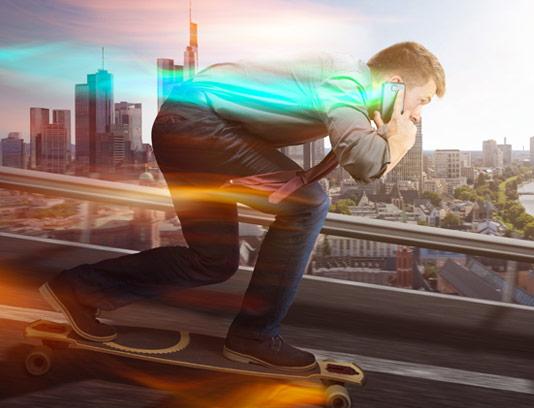 عکس با کیفیت مفهومی سرعت بالای ۴G