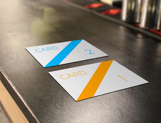 طرح لایه باز موکاپ کارت ویزیت شماره ۱۵