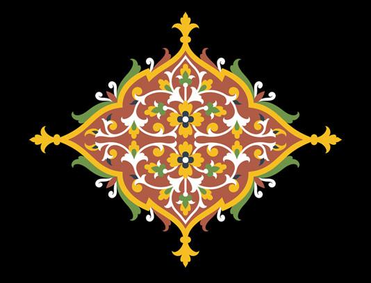 وکتور طرح نماد و المان اسلامی شماره ۳۷