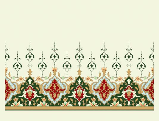 وکتور طرح المان و نماد اسلامی شماره ۳۹