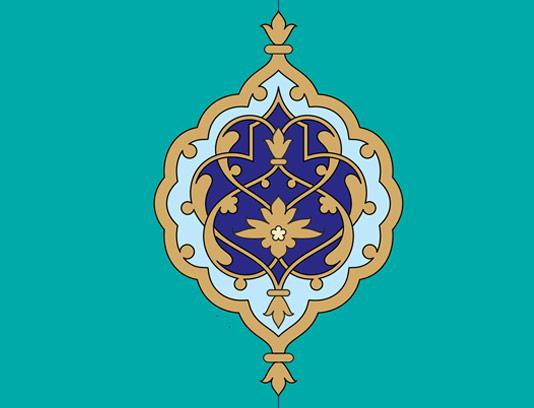 وکتور طرح المان و نماد اسلامی شماره ۴۱