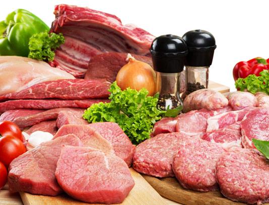 عکس با کیفیت محصولات گوشتی و پروتئینی
