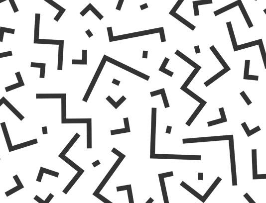 پترن مینیمال و ساده با خطوط در هم ریخته شماره ۰۴