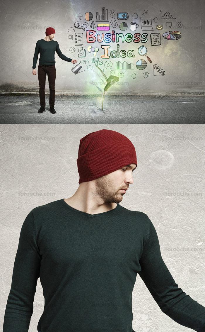 عکس با کیفیت مفهومی ایده های کسب و کار