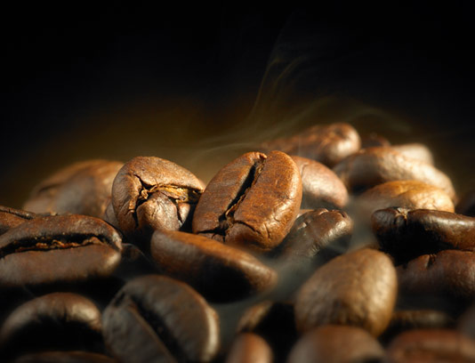 عکس دانه های قهوه با کیفیت عالی