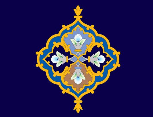 وکتور طرح نماد و المان اسلامی شماره ۴۵