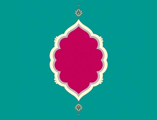 وکتور طرح نماد و المان اسلامی شماره ۴۹