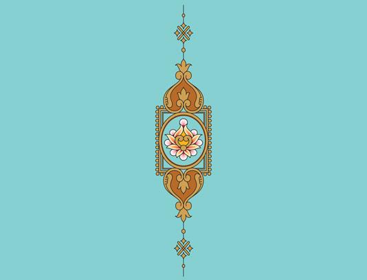 وکتور طرح نماد و المان اسلامی شماره ۵۲
