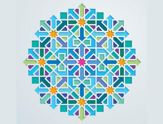 وکتور طرح نماد و المان اسلامی شماره ۵۴