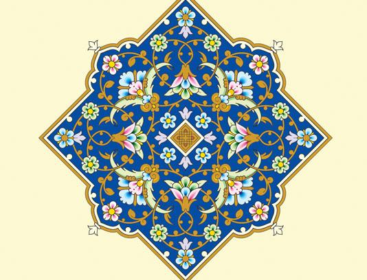 وکتور طرح نماد و المان اسلامی شماره ۵۵