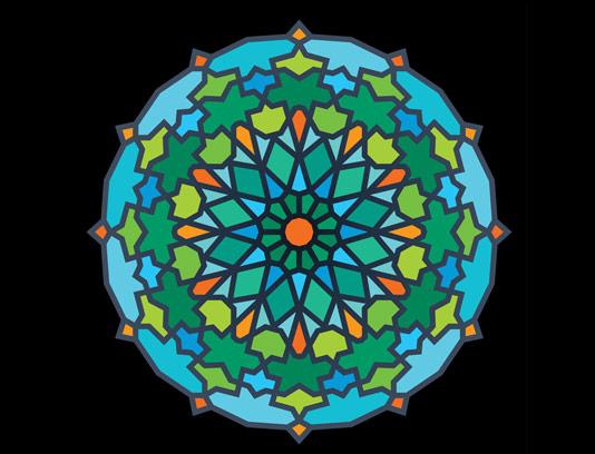 وکتور طرح نماد و المان اسلامی شماره 56