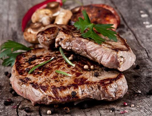 عکس استیک گوشت با کیفیت عالی