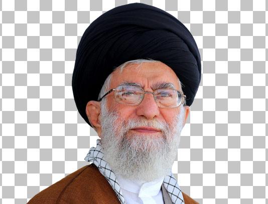 عکس با کیفیت دوربری شده امام خامنه ای شماره ۰۶