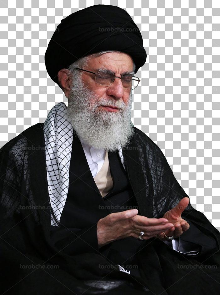 عکس با کیفیت دوربری شده امام خامنه ای شماره ۰۷