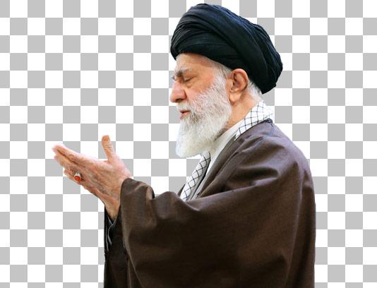 عکس دوربری شده امام خامنه ای شماره ۰۸