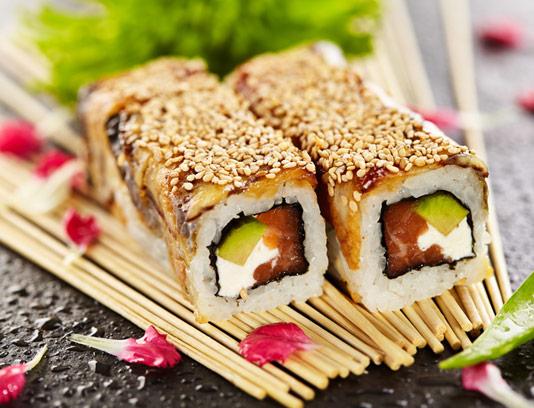 عکس سوشی ژاپنی با کیفیت عالی