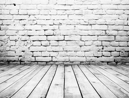 تکسچر و بکگراند دیوار آجری و زمینه چوبی شماره ۰۹