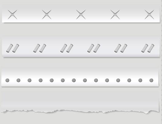 وکتور طرح جدا کننده های خطی شماره ۰۲