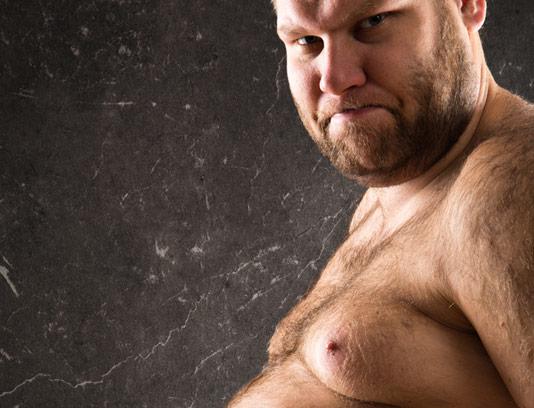 عکس با کیفیت مرد بسیار چاق