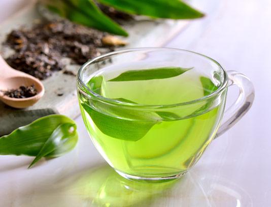 عکس با کیفیت دمنوش چای سبز با فنجان