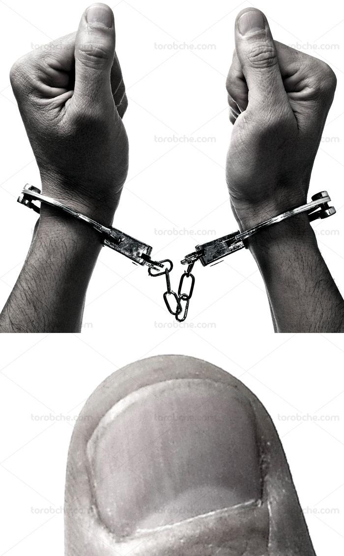 عکس دستبند پلیس با کیفیت عالی