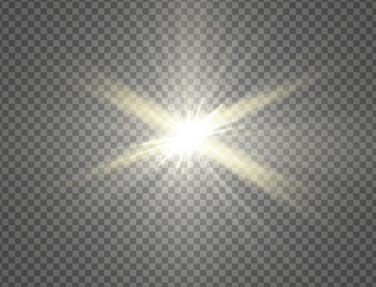 وکتور طرح افکت نور بدون پس زمینه شماره ۱۵