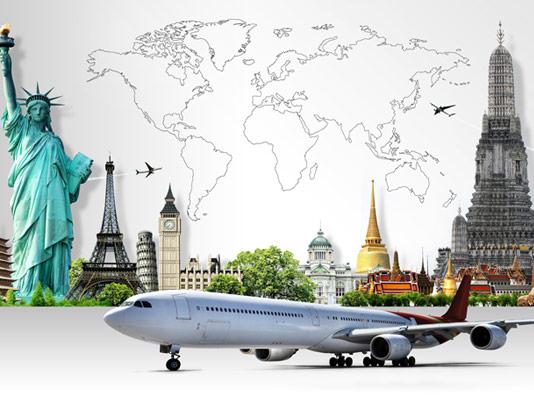 عکس با کیفیت گردشگری با آژانس هواپیمایی