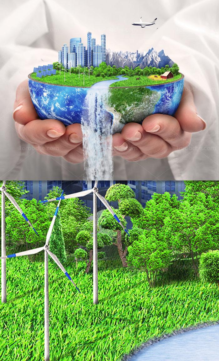 عکس با کیفیت کره زمین و طبیعت جذاب