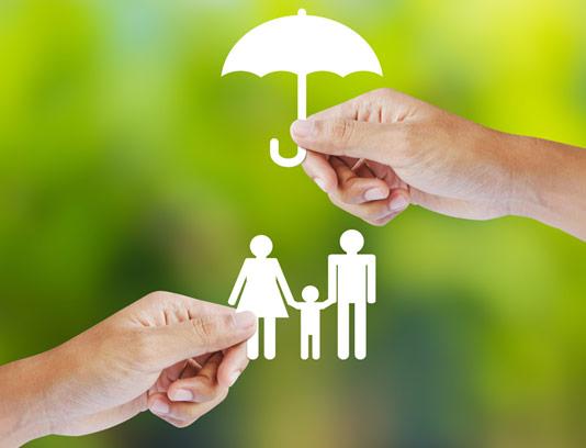عکس مفهومی بیمه خانواده با کیفیت عالی