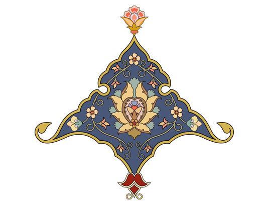 وکتور طرح نماد و المان اسلامی شماره ۶۰