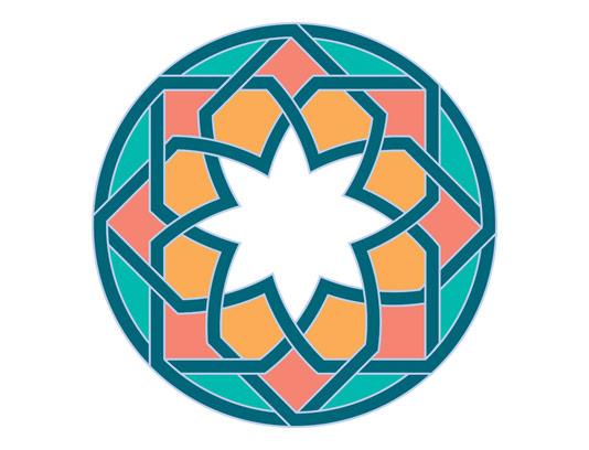 وکتور طرح نماد و المان اسلامی شماره ۶۱