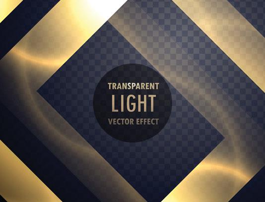 وکتور طرح افکت نور بدون پس زمینه شماره ۱۶