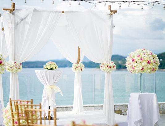 عکس با کیفیت دکوراسیون جشن عروسی و ازدواج