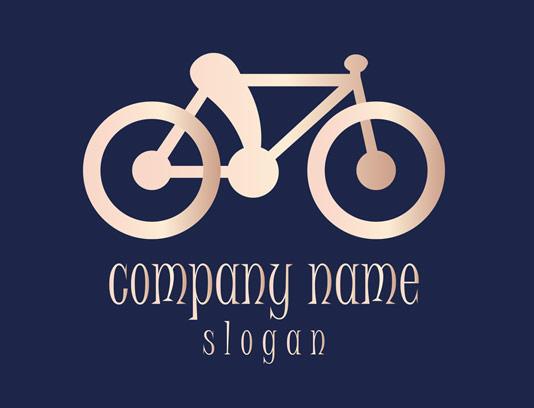 وکتور طرح لوگوی خلاقانه دوچرخه