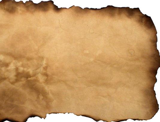تکسچر و بکگراند کاغذ قدیمی دور سوخته