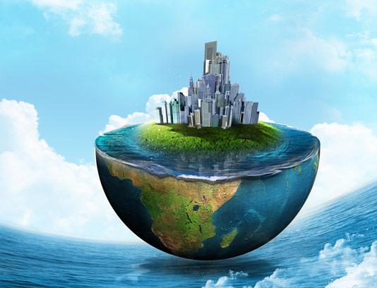عکس با کیفیت کره زمین و طبیعت خلاقانه