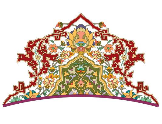 وکتور طرح نماد و المان اسلامی شماره ۶۹