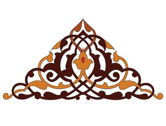 وکتور طرح نماد و المان اسلامی شماره ۷۳