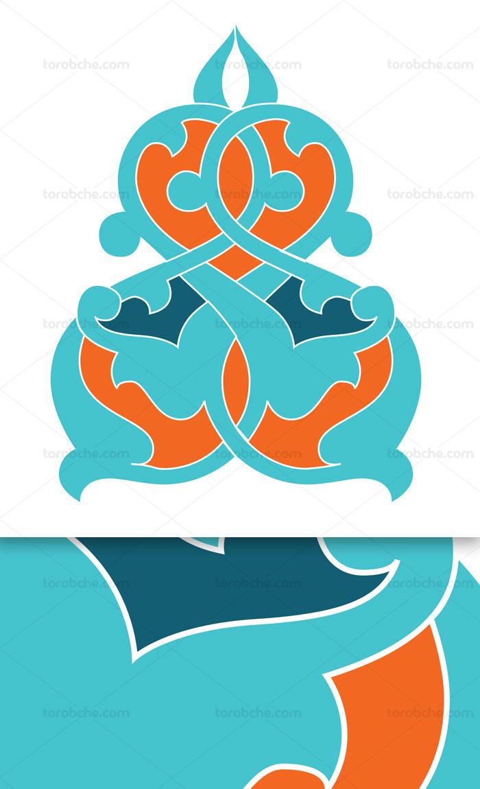 وکتور طرح نماد و المان اسلامی شماره ۷۴