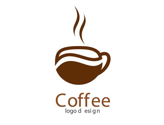 وکتور طرح لوگوی فنجان قهوه و کافی شاپ