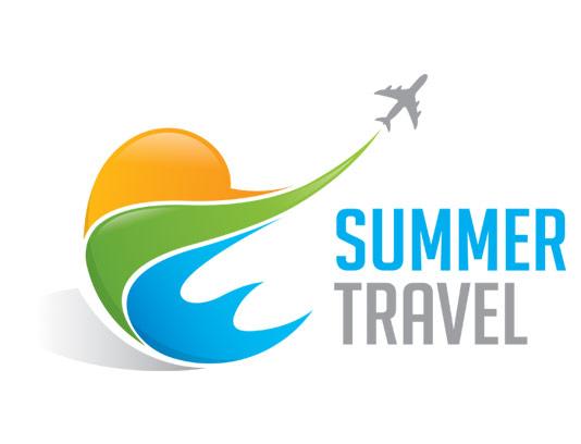 وکتور لوگوی آژانس هواپیمایی و تور مسافرتی